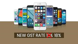Gst Rate On Smartphones Hiked