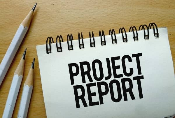 what is project report